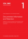 VDA 1 : Documented Information and Retention, 4th Completely Revised Edition